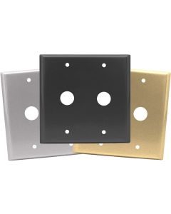 Double Cable Cover Plates