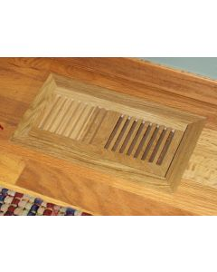 Flush Mount Grille Wood Floor