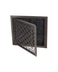teel Scroll Air Return Filter Grille
