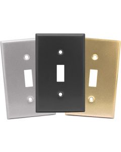 Single Toggle Switch Plates