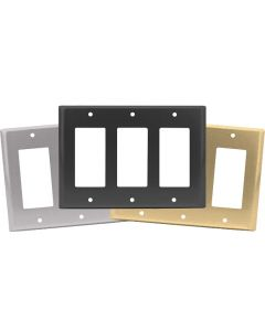 Triple Decora Switch Plates