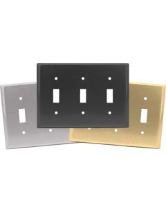 Triple Toggle Switch Plates